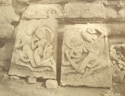 Iwullee. [Sculptured slabs from the Durga Temple, Aihole.] 2081